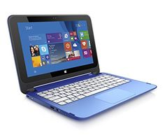 (Discontinued) HP Stream 11.6-Inch Convertible Touchscreen Laptop (Intel Celeron, 2 GB, 32 GB SSD, Blue) Includes Office 365 Personal for One Year HP http://www.amazon.com/dp/B00X5X2NXQ/ref=cm_sw_r_pi_dp_KFVBwb0MDAW31