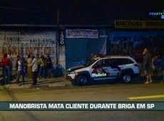 Galdino Saquarema Noticia: Manobrista mata cliente após discussão