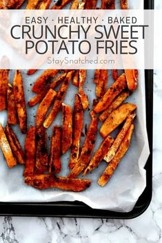 Recipes Snacks Low Calories Easy, Healthy, and Baked Crunchy Sweet Potato Fries is a crispy, fries recipe with garlic, avocado aioli dipping sauce. This low-calorie side dish makes the perfect side dish or snack! Dinners Under 500 Calories, Low Calorie Dinners, No Calorie Foods, Low Calorie Recipes, Low Calories, Sweet Potato Fries Healthy, Low Carb Sweet Potato, Sweet Potato Recipes, Fresh Spinach Recipes