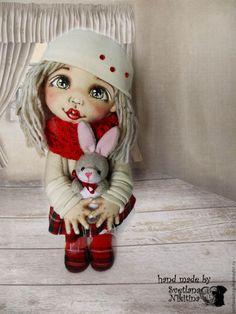 Купить Текстильная кукла Лиза. НЕТ В НАЛИЧИИ - кукла ручной работы