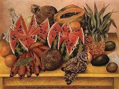 Frida Kahlo - Bride Frightened - Mole Recipe