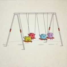 Mood Swings! LOL! Get it? No? Okay, never mind!