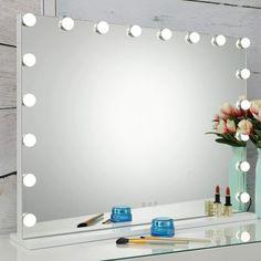 Lighted Vanity Mirror, Makeup Vanity Mirror, Wall Mounted Mirror, Vanity Room, Diy Vanity, Mirrors, Hollywood Mirror With Lights, Hollywood Makeup Mirror, Dekoration