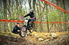 Flying on my devinci, i love this bike. #billygoatbikes #dirtyjane @DirtyJane