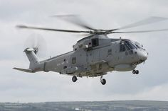 Royal Navy Merlin Mark 2 helicopter.