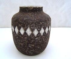 1950s Westraven chanoir vase by Leendert Blok H162