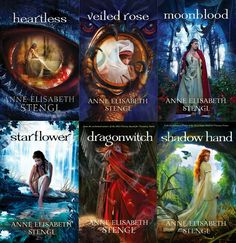 Tales of Goldstone Wood by Anne Elisabeth Stengl. She's an amazing author. Her fantasy is anything but cliche. Her story lines are well thought out. She's genius and I LOVE these books!!