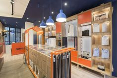 The Nines store by Alcmea Architectes Paris  France