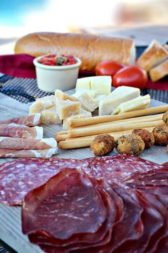 Italian Antipasto and Wine