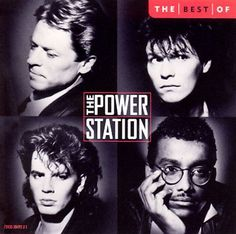 Used as posing music for Physique Southwest NPC Bodybuilding Contest, The Power Station was a supergroup made up of singer Robert Palmer, former Chic drummer Tony Thompson, and Duran Duran members John Taylor (bass) and Andy Taylor (guitar). 80s Music, Music Love, Rock Music, Tony Thompson, Robert Palmer, Classic Album Covers, Drum Lessons, John Taylor, Actrices Hollywood