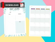 This collection of College Planners PDF Templates is strict and simple in design. Your perfect solution for useful, productive, efficient and beautiful planner inserts! Plan your days, weeks and months in a lightweight, clean manner. Planner Inserts, Planner Template, College Planner, Planning Your Day, Planner Organization, Priorities, Pdf, Notes, Templates