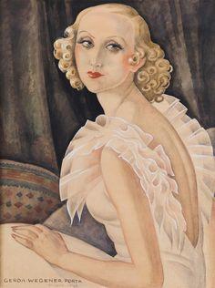 Gerda Wegener Painting