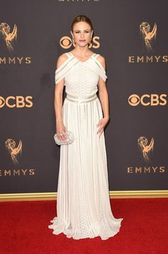 Wedding dress inspiration and ideas form this year's Emmy celebration