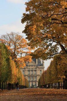 Jardin des Tuileries, Louvre, Paris, France