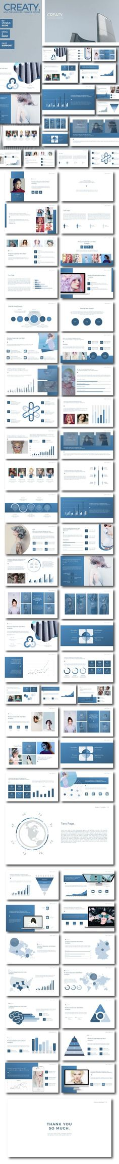 Creaty - Multipurpose Business Presentation - Business PowerPoint Templates