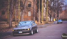 just hanging around #bmw #e32 and #e34
