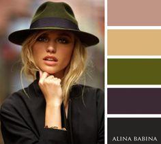 15perfect colour combinations for autumn                                                                                                                                                                                 Mais