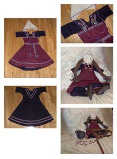 Viking Princess Costume (and doll) by Laerad on deviantART