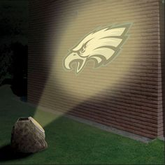 Customer favorite for showing off team pride! Eagles Logo Projection Rock $39.99