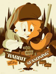 """Rabbit Seasoning"" by Tom Whalen"