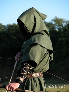 Aw, man, I clicked the link but this SOLD already!  I was so wanting to get it for my hubby, being the raging Green Arrow fan he is (finally, a ren faire costume he wouldn't complain about) | Bowman Tunic Surco Garb Costume SCA LARP Medieval | eBay