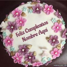 Happy Birthday Cake Pictures, Happy Birthday My Love, Happy Birthday Cakes, Birthday Wishes, Good Evening Greetings, Cake Name, Name Generator, Birthday Cakes For Women, Girlfriend Birthday