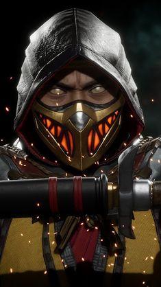 Playstation, Xbox, Scorpion Mortal Kombat, Mortal Kombat Games, Liu Kang And Kitana, Mortal Kombat X Wallpapers, Assassin's Creed Black, Biomechanical Tattoo, Black Panther Marvel