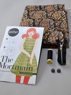 The Botanical Mortmain | Gather sewing patterns
