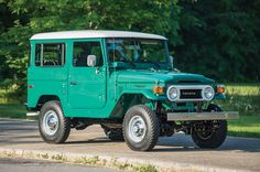1978 Toyota FJ40 Land Cruiser RM Sothebys front three quarters