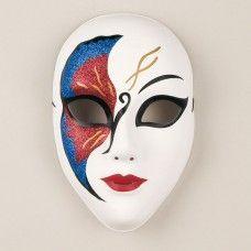 Resultado de imagen para imagenes de mascaras decoradas de yeso