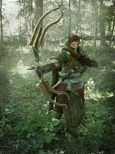 Updated cosplay. Iorveth from the Witcher 2: Assassins of kings. (Iorweth cosplay gallery by Bunnyvaltir: http://bunnyvaltir.deviantart.com/gallery/12571752/The-Witcher-Cosplay)