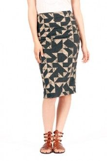 LOVE this midi skirt from & Apparel!