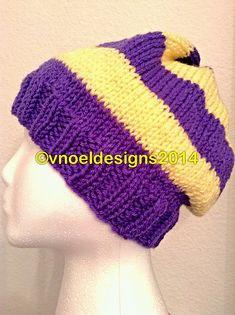 Ravelry: College Stripes Men's Knit Hat pattern by V. Noël - free pattern