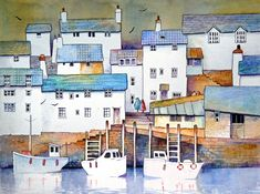 Polperro by Malcolm coils