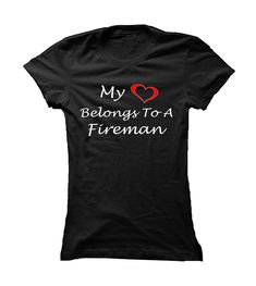 Awesome T-shirts  Fireman wife - (3Tshirts)  Design Description: Does your heart belong to a fireman? If YES, wear this shirt with pride.  If you don't utterly love this Shirt, you'll be able to SEARCH your favourite one by means of using search bar on... -  - http://tshirttshirttshirts.com/whats-hot/best-t-shirts-fireman-wife-3tshirts.html