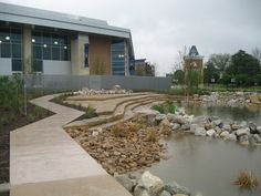 The Green at College Park - nice but too much hardscape