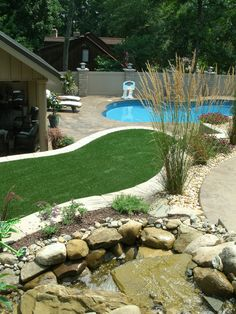 SplashGrass by ForeverLawn is a beautiful, safe, drainable synthetic grass that offers unique benefits for water play areas and landscaping within water parks.