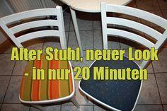 verrücktes Huhn: Alter Stuhl, neuer Look – in nur 20 Minuten