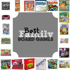 Best Family Board Games - This Girl's Life Blog
