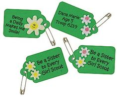 Being a Sister to Every Girl Scout:  make swaps to share with our troop and sister troop