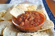 Quick Winter Salsa - for when you can't get fresh local tomatoes