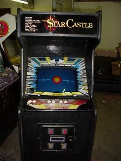 star castle arcade game | Star Castle Nearly Forgotten, But Great Arcade Game