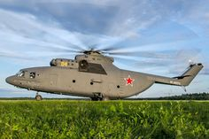 Russian Air Force Mil Mi-26 at Torzhok - In service with civilian and military operators, it is the largest and most powerful helicopter to have gone into series production.
