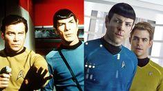"""Jahrzehntelang waren Captain Kirk und Mr. Spock die Helden des Nachmittagsfernsehens. Was im deutschsprachigen Raum """"Raumschiff Enterprise"""" hieß, wurde nach und nach durch die Kinofilme unter dem Originaltitel """"Star Trek"""" bekannt. Mittlerweile gibt es neue Gesichter auf der Kommandobrücke. Aber was wurde aus den Helden von einst?"""
