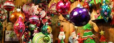 Ornaments of all shapes and colors