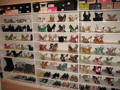 The Shoe Girl's Blog: Ahhhh Shoe Closets...