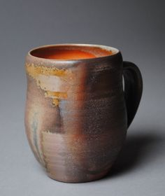Mug Beer Stein Wood Fired M40 by JohnMcCoyPottery on Etsy, $38.00. www.etsy.com/shop/JohnMcCoyPottery