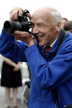 "Bill Cunningham, legendary fashion photographer for the NY Times l Anna Wintour opines in the moving film ""Bill Cunningham New York"" that ""we all get dressed for Bill"""