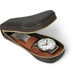 FOUNDWELL VINTAGE Leather Watch Travel Case