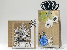 Give the Gift of Handmade This Christmas / Sizzix Blog - The Start of Something You